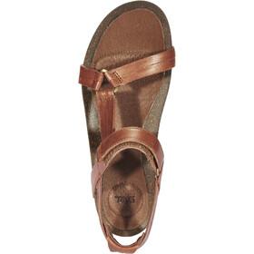 Teva Ysidro Universal Metallic Sandals Women bronze